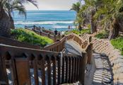 Encinitas D Street beach access by Tim Buss