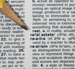 Real estate entry in dictionary