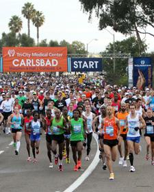 Tri-City Medical Center Carlsbad Marathon and Half Marathon