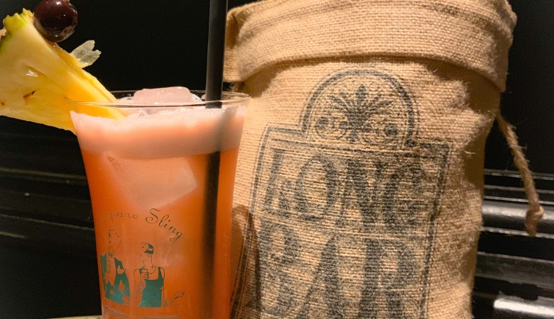 Singapore Sling at Long Bar