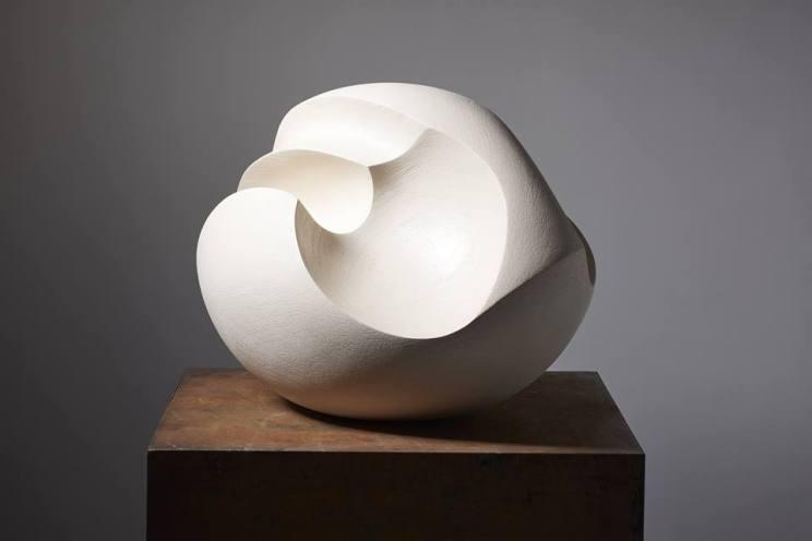 ivory ceramic sculpture