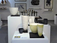 Ceramic display in PR1 Gallery