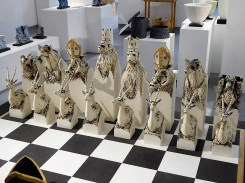 Animal chess pieces