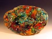 Multicoloured platter