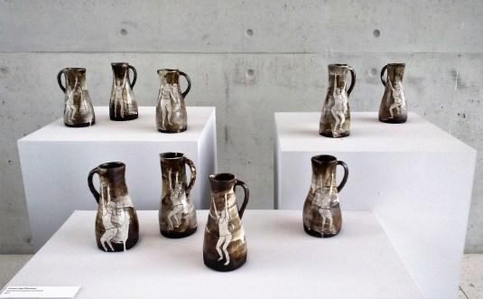 Emilie Taylor: harvest pots with Demeter figure