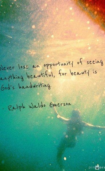 god's handwriting