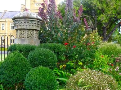 stunning gardens.