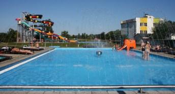 termálne bazény - kúpalisko Patince