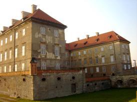 časť Holíčského hradu