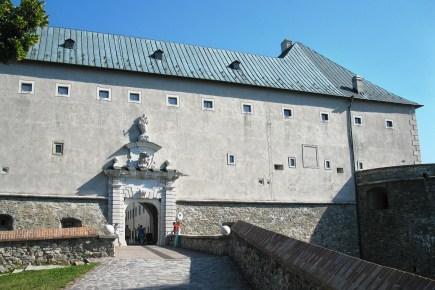 časť hradu Červený kameň