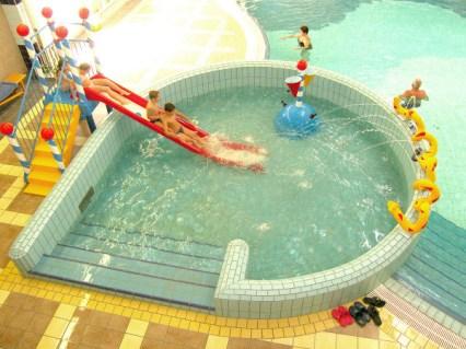 detský krytý bazén - Kúpalisko Veľký Meder