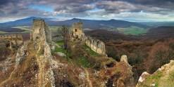 súčasný stav - zrúcanina hradu Gýmeš