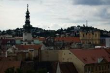 historické centrum - zo Starej radnice