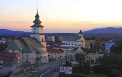 panoráma mesta Prievidza