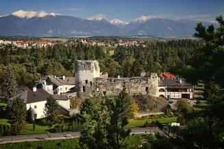 Panoráma - hrad Liptovský Hrádok