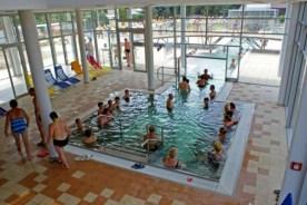 vnútorný termálny bazén kúpaliska Vrbov