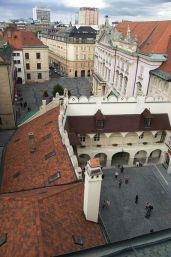 výhľad zo Starej radnice