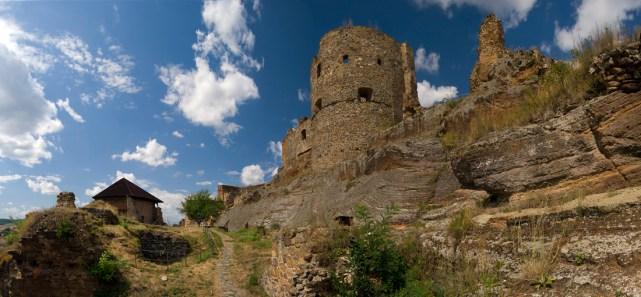 panoráma Fiľakovský hrad