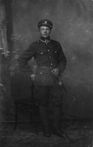 Florian Piłasiewicz w 33pp w Łomży 1919 r.