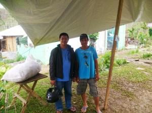 Pastor Randy (left) with Pastor Bernard (right)
