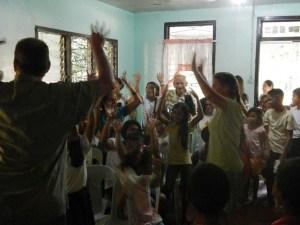 Kids Time in Donsul Church