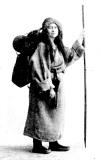 チベット巡礼姿のダヴィッド=ネール(東洋文庫版口絵より)