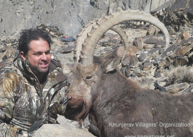 Bidding for the award of trophy hunting licenses held in Gilgit