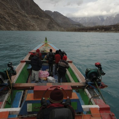 Gojal Valley Boat Service suspended for one week