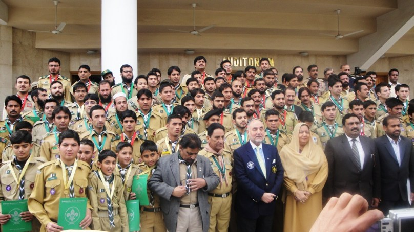 7 GBians among Boy Scouts winning Presidential Awards