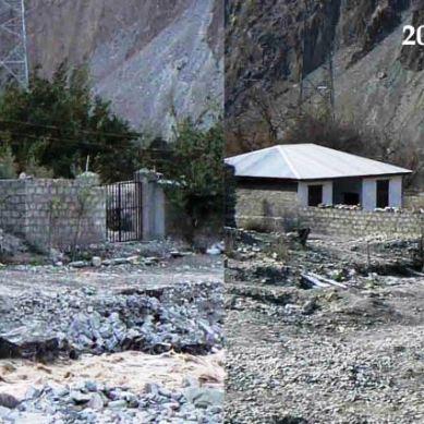 چٹورکھنڈ: ڈیڑھ لاکھ میں بننے والاحفاظتی  بند ڈیڑھ سال کا ہونے سے پہلے ہی ڈھیر