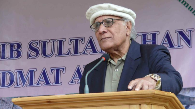 Shoaib Sultan Khidmat Award presented to local leaders