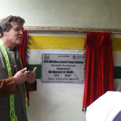 200KV Hydropower project inaugurated in Bumborat, Kalash Valley