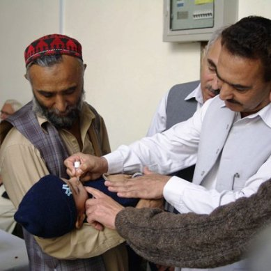 Anti-Polio walk held in Chitral,  68,117 children to be vaccinated