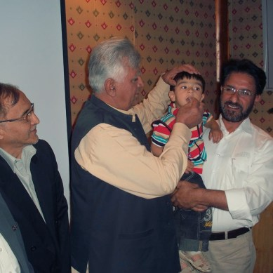 Anti-polio vaccination drive launched in Gilgit-Baltistan