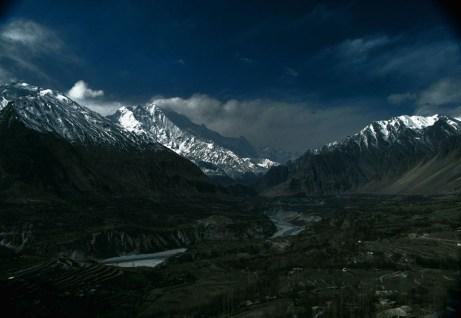 darkness in Hunza