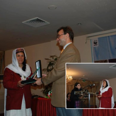 Ms. Bibi Meraj from GB among winners of Conservation Award