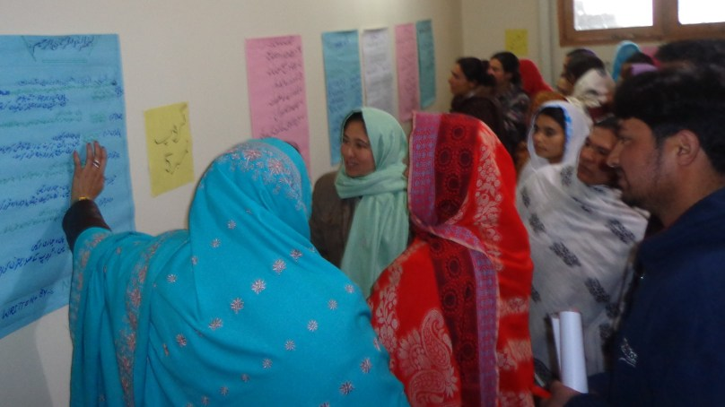 Weeklong training on entrepreneurship concluded in Aliabad, Hunza