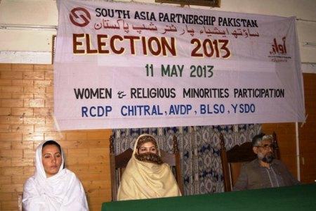 Seminar under progress in Chitral