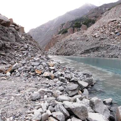 """Excavation of Attabad spillway completed"", claims FWO"