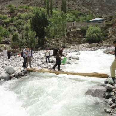 Pictorial: Destruction caused by floods in Ghizer district