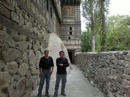 At Shigar Fort Residency
