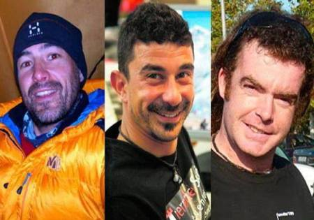 The deceased Spanish climbers