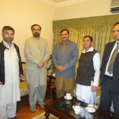 Delegation from Chitral calls on KPK Governor