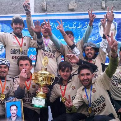 Gircha Eagles win volley ball tournament