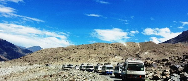 The convoy system had been started as security measure after passenger vehicles were attacked in Kohistan, Babusar and Chilas