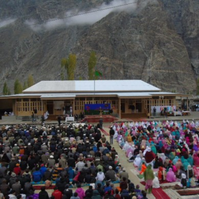 Jamatkhana inaugurated in Shishkat village of Gojal, upper Hunza