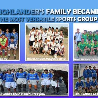 Highlander Sports Group promoting healthy activities among youth of Gilgit-Baltistan