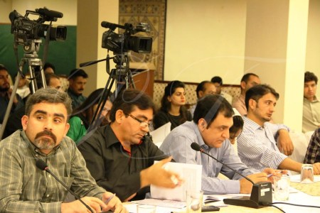 The participants shared concerns over the continued violations of human rights in the Gilgit-Baltistan region