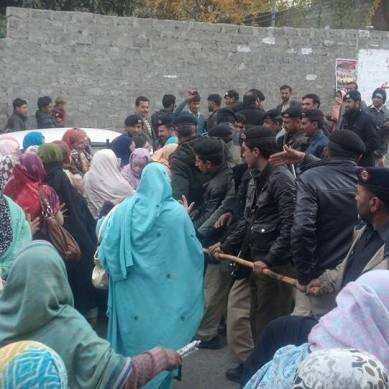 SAP School teachers' strike continues for the fifth day, 14 arrested and released