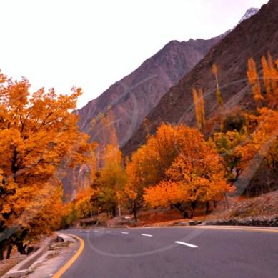 Autumn in the beautiful Nagar Valley